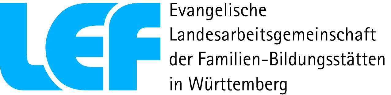 Hier ist das Logo der evangelischen Landesarbeitsgemeinschaft der Familien-Bildungsstätten in Württemberg dargestellt