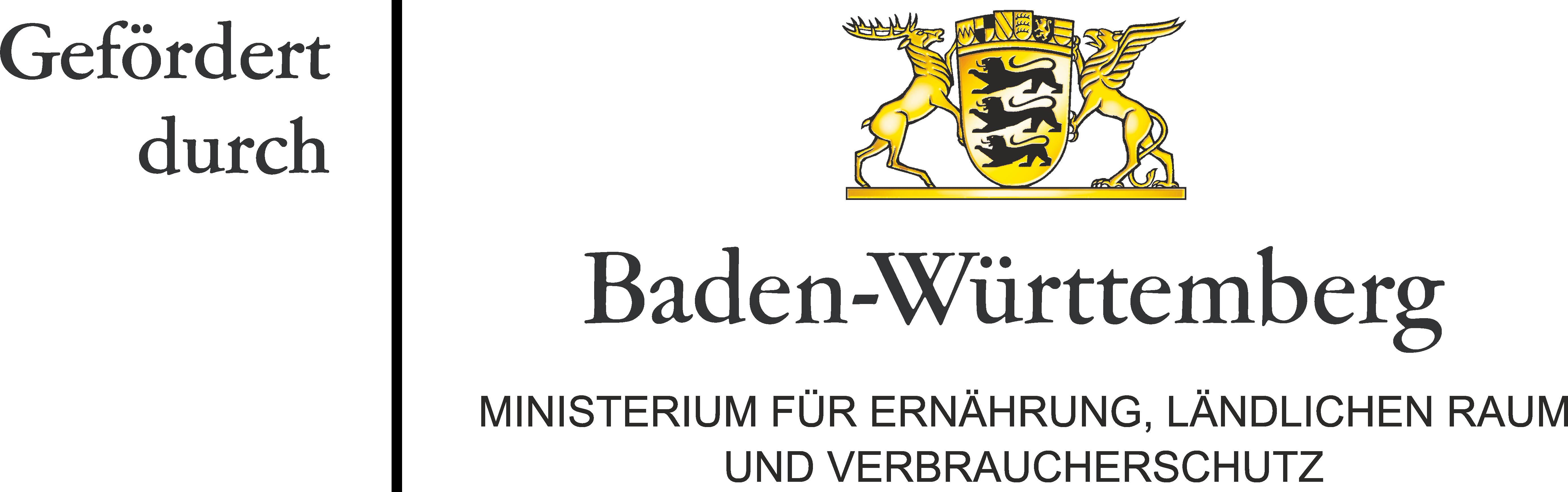 Hier ist das Logo des Ministeriums für Ernährung, ländlichen Raum und Verbraucherschutz Baden-Württemberg dargestellt