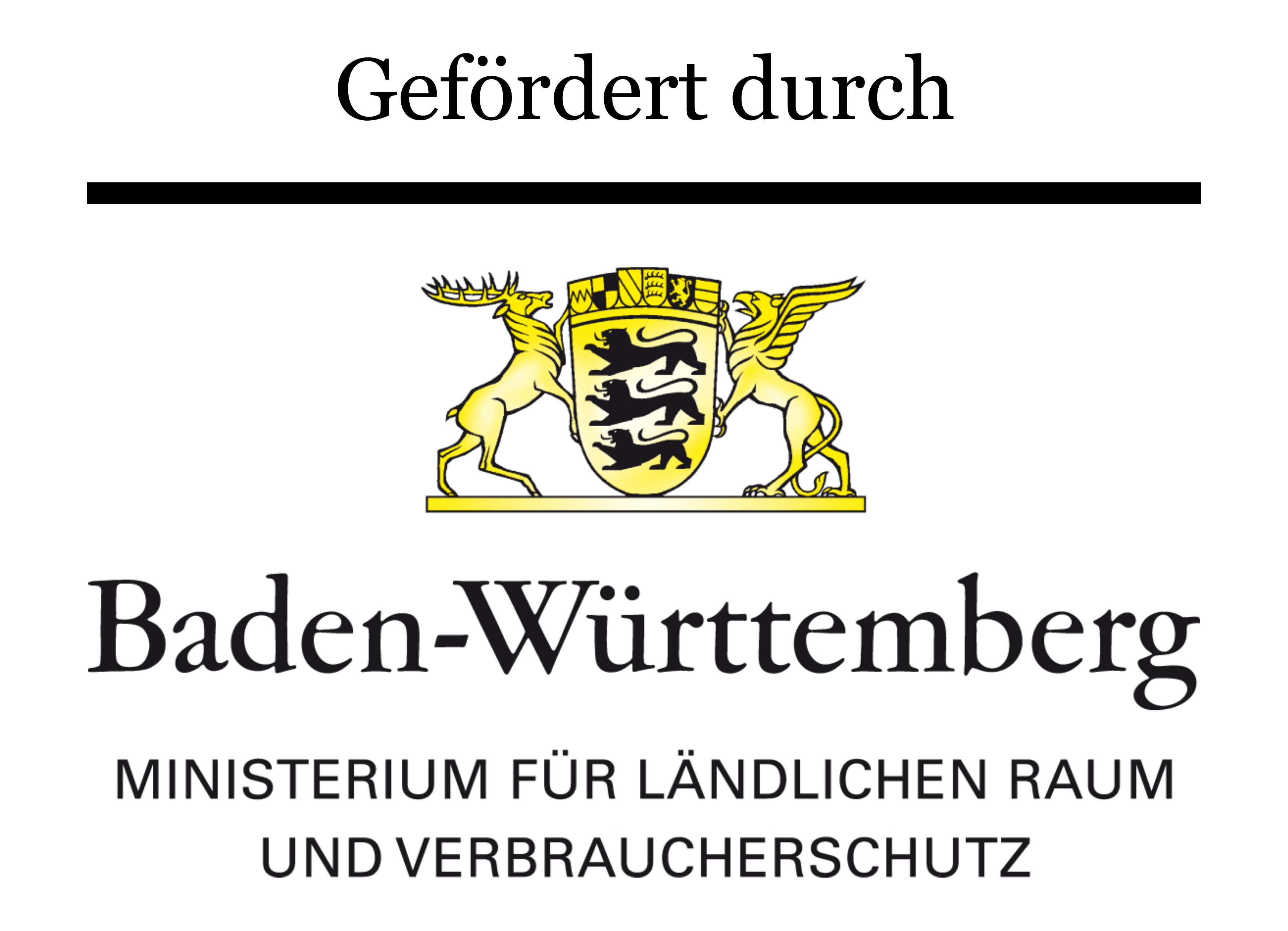Hier ist das Logo des Ministeriums für ländlichen Raum und Verbraucherschutz Baden-Württemberg dargestellt