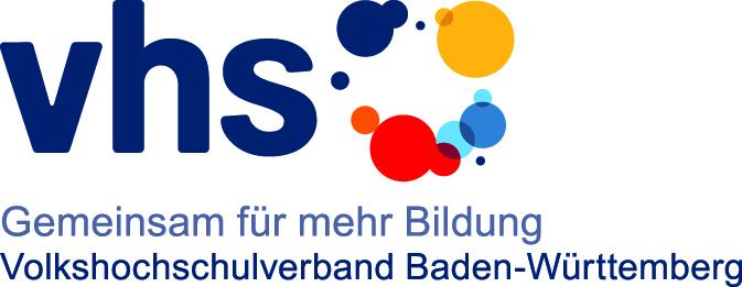 Hier ist das Logo des Volkshochschulverbandes Baden-Württemberg dargestellt